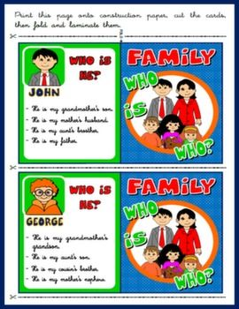LET'S TALK ABOUT... FAMILY! - Teach English Step By Step