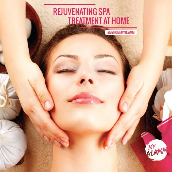 Revitalise yourself with a spa treatment at home. Visit www.myglamm.com or Call us on 1800 3000 4526 to book now!