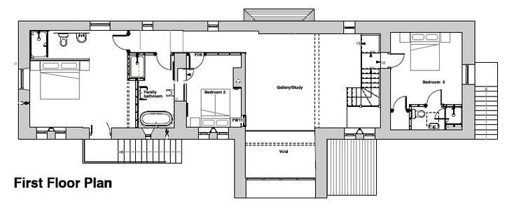 Long barn conversion floor plan google search barn for Barn conversion floor plans