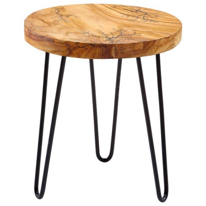 Formschoner Beistelltisch Aus Teakholz Beistelltisch Rund Holz Beistelltische Teak Holz