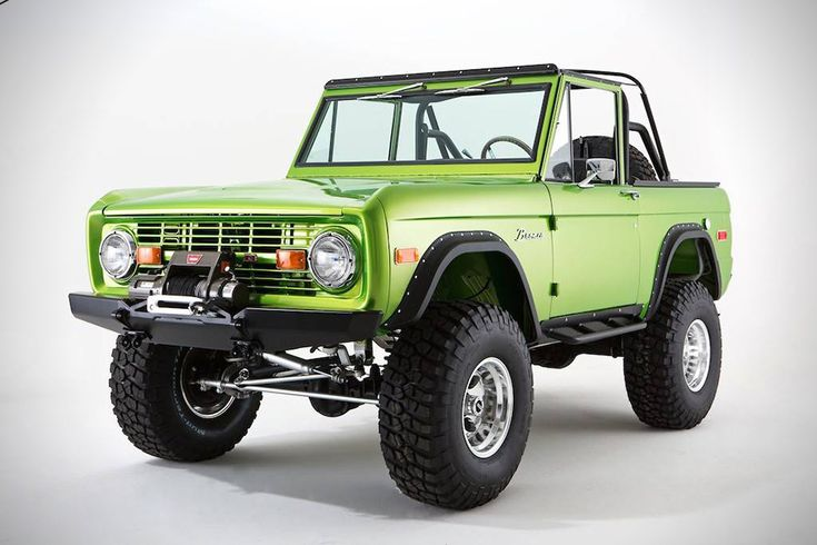 Classic Ford Broncos 1