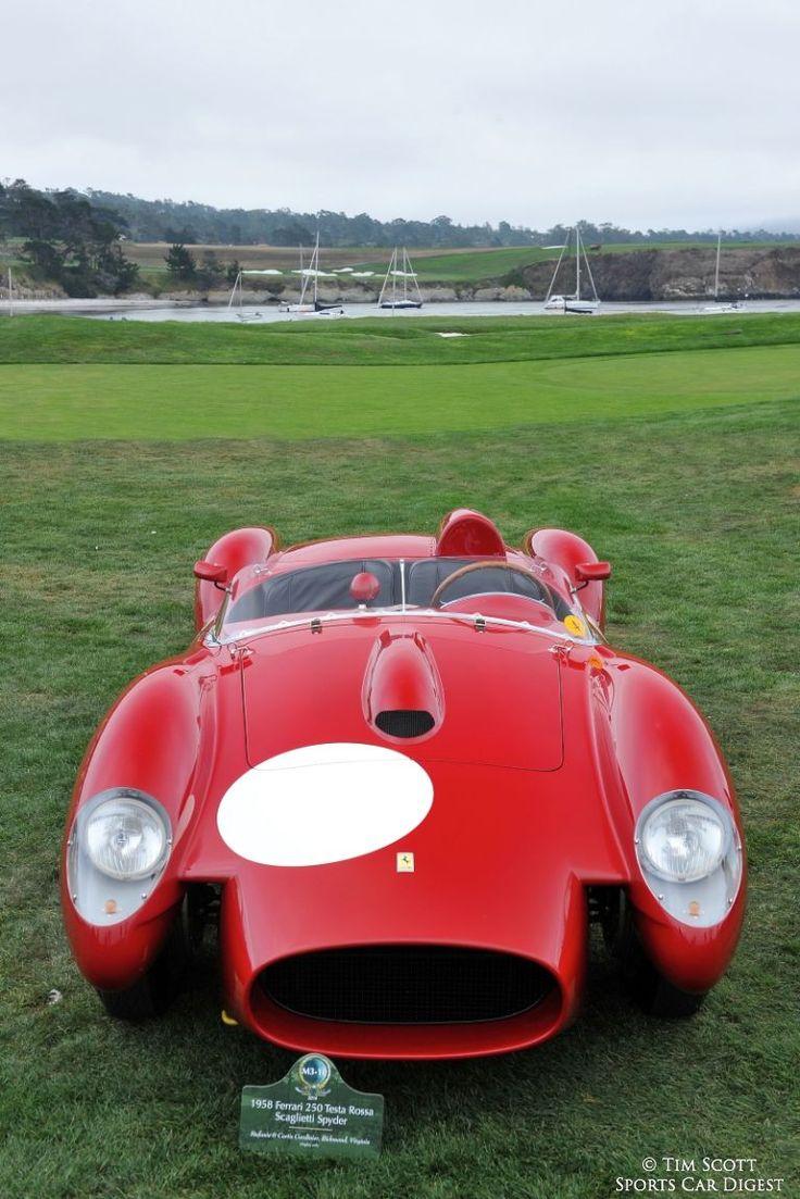 172 best 250 tr images on pinterest ferrari race cars and cars 1958 ferrari 250 testa rossa scaglietti spider 0742tr vanachro Gallery
