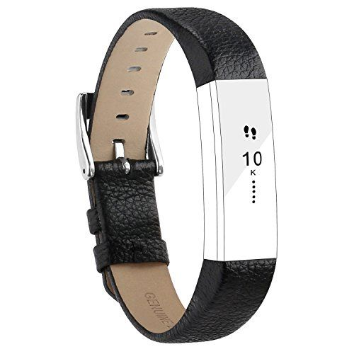 From 11.09 For Fitbit Alta Strap Leather Alta Hr Band Adjustable Replacement Bracelet Sport Straps For Fitbit Alta And Alta Hr Unisex Fitness Wristband