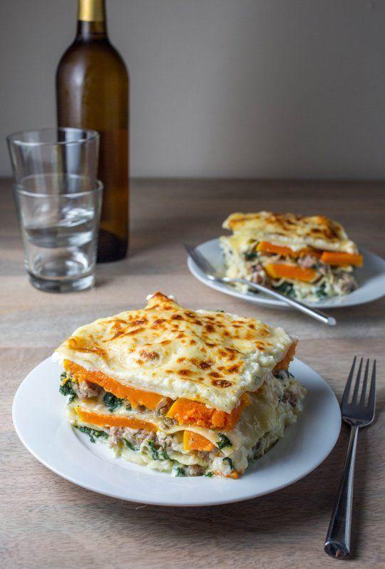 Recipe: Butternut Squash & Sausage Lasagna — Recipes from The Kitchn