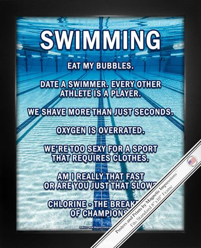 Swimming Lanes Poster Print features an amazing underwater pool image and hilarious swimming sayings. This poster print makes a unique inspirational gift for swimmers and teams!