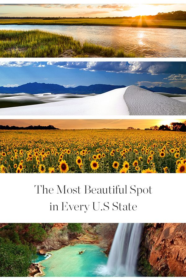 The Most Beautiful Spot in Every U.S. State