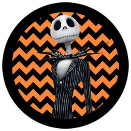 cupcake toppers   the nightmare before christmas jack