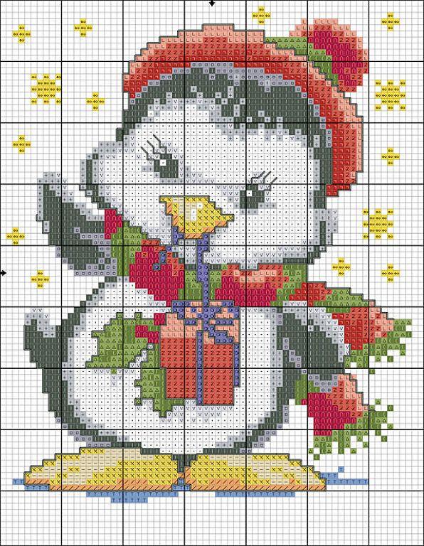 graficos infantiles punto de cruz (pág. 14) | Aprender manualidades es facilisimo.com