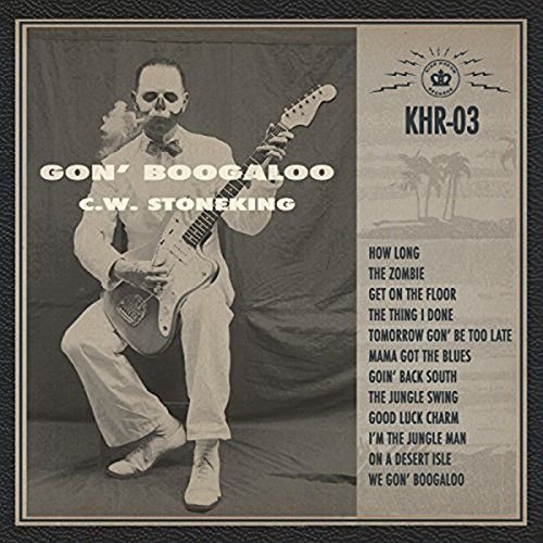 Gon' Boogaloo:   Black vinyl LP pressing in gatefold jacket. 2016 release from the Australian blues singer, songwriter and guitarist. Gone are the sepia-toned tales of marooned adventures in the tropics of his last release, the ARIA Award winning Jungle Blues, this time replaced with the latest invention in the world of C.W. Stoneking - electricity! C.W. has stashed his afore-favored vintage National guitar and banjo combo for a shiny gold Fender and an extra-large helping of rock 'n' ...