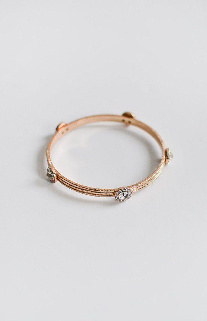 Lunation Bracelet / delicate feminine jewelry