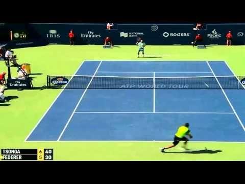 Finale Coupe Davis 2014 France-Suisse : Roger Federer-Jo Wilfried Tsonga - http://www.actusports.fr/120103/finale-coupe-davis-2014-france-suisse-roger-federer-jo-wilfried-tsonga/