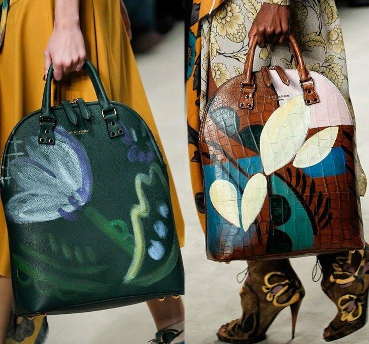 TACHUELAS DIY & CO: Diy maxi bolso pintado inspirado en Burberry Prorsum