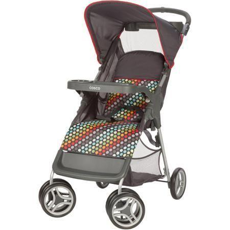 Baby Stroller Cosco Lift & Stroll Rainbow Dots - Strollers