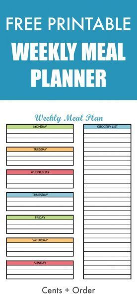 25 best ideas about grocery list printable on pinterest for Free meal coupon template