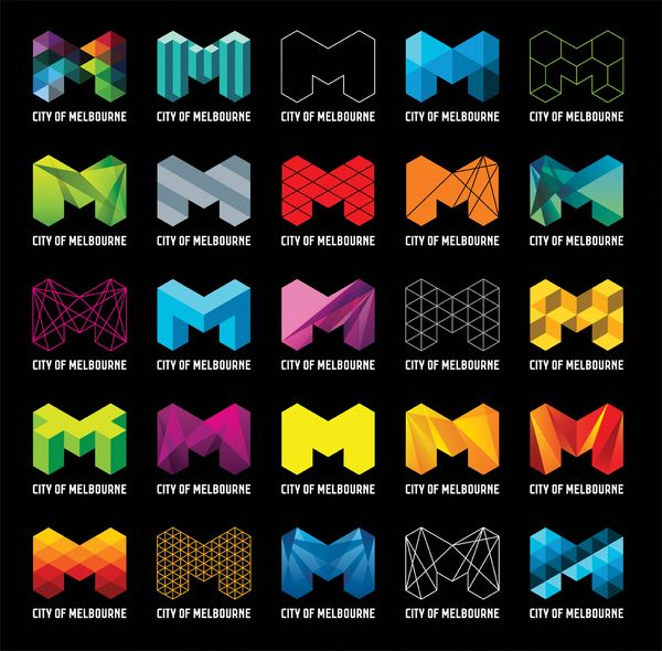 City of Melbourne Identity #M