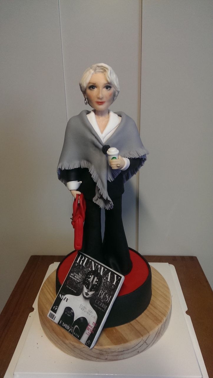 Your Majesty — #cake#fondant#fondantcakes#yourmajesty#thedevilwear...