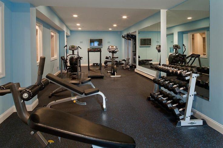 Best ideas about basement workout room on pinterest
