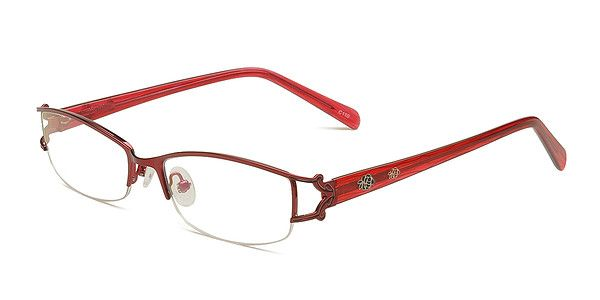 Red Rimless Glasses : 17 Best images about Glasses on Pinterest Diamond shaped ...