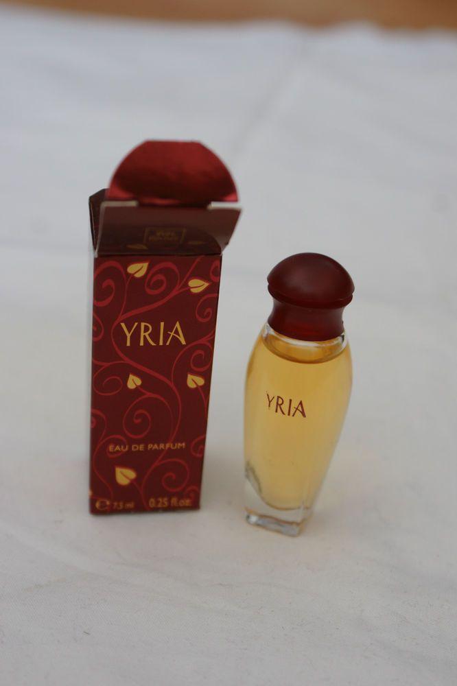 Yves Rocher YRIA Eau de Parfum New In Box Unused 0.25 oz 15 ml