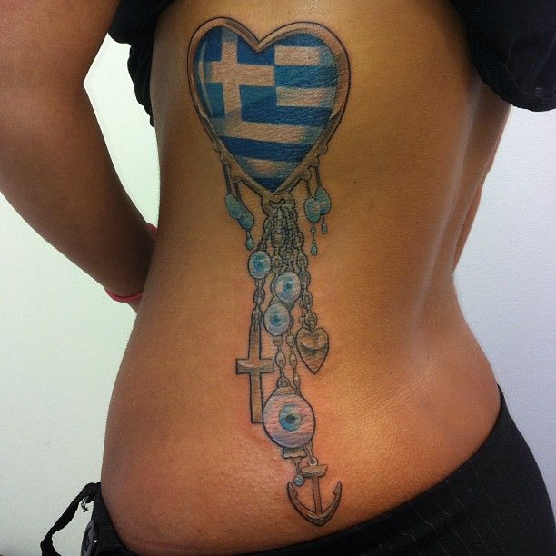 This wasn't what I expected when I searched Greek tattoos, but this is cool :)
