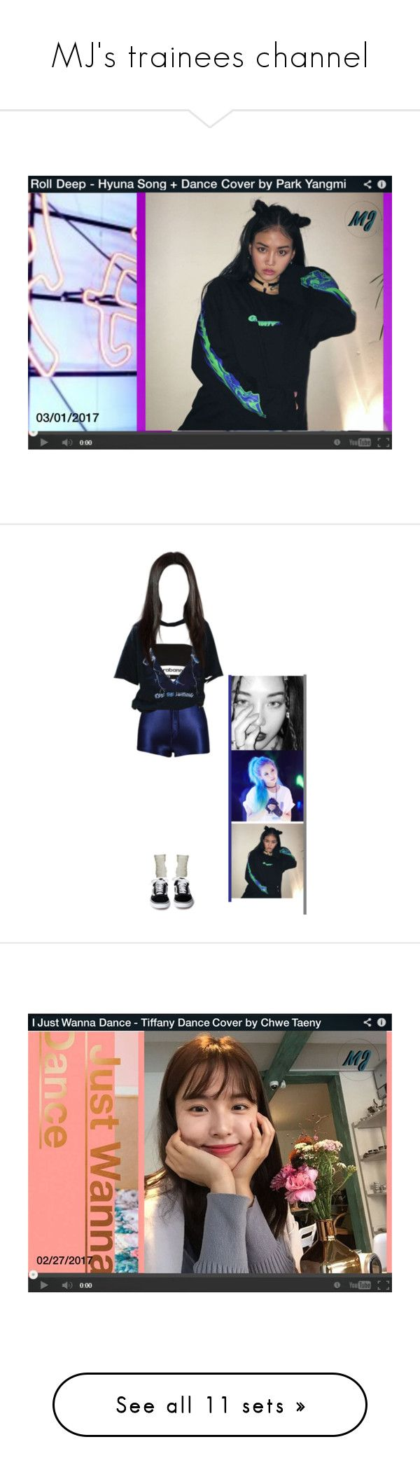 """""""MJ's trainees channel"""" by mj-entertainment ❤ liked on Polyvore featuring art, Paco Rabanne, Under Armour, Topshop, Vetements, Old Navy, Vans, chwetaeny, jeona and Yves Saint Laurent"""