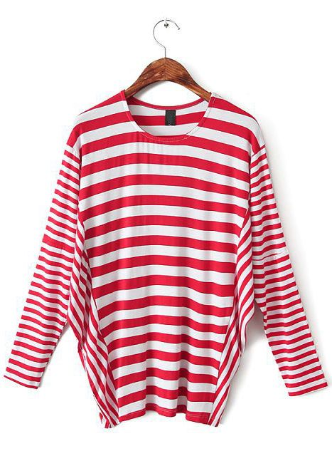 1000 Images About Red And White Striped Long Sleeve Shirt