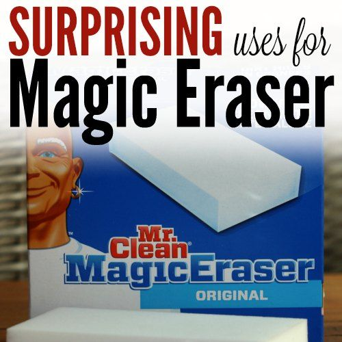 I just love cleaning with Mr. Clean magic erasers. CHeck out these easy uses for Mr. Clean magic erasers. Some of them might surprise you.