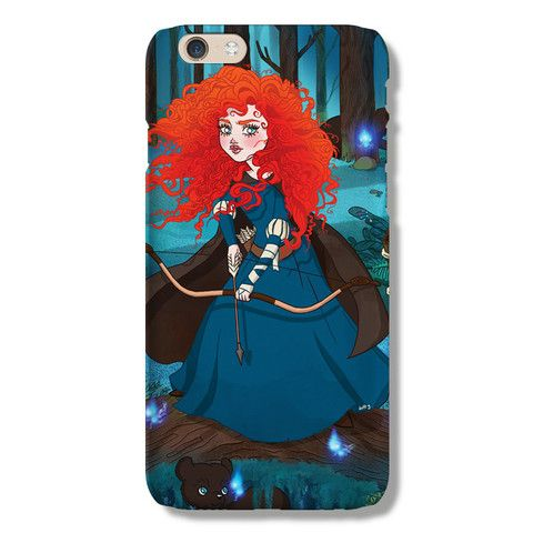Merida iPhone 6 case from The Dairy www.thedairy.com #TheDairy #PhoneCase #iPhone6 #iPhone6case