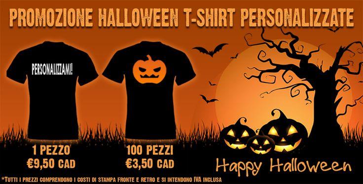Halloween sta arrivando e come ogni anno cerchiamo di fare più paura possibile! CREA LA TUA T-SHIRT DA PAURA! T-shirt nera da personalizzare con zucca e GRAFICA A SCELTA! Stampa fronte e retro inclusa nel prezzo!