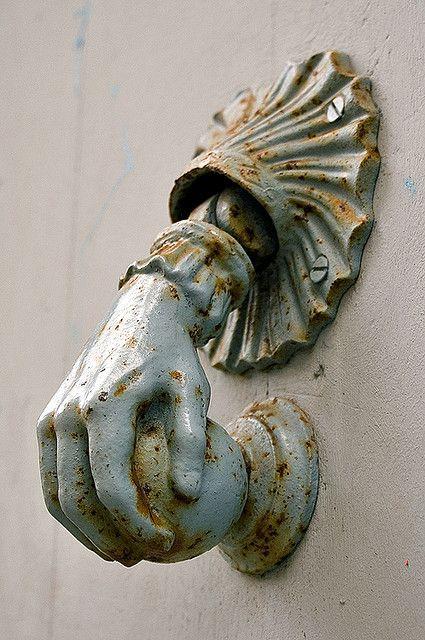Doorknob in France.