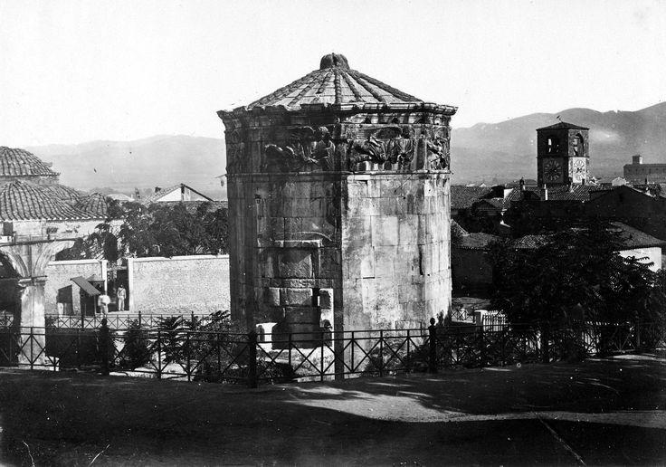 Ο Πύργος των Ανέμων, μεταξύ 1871 και 1896