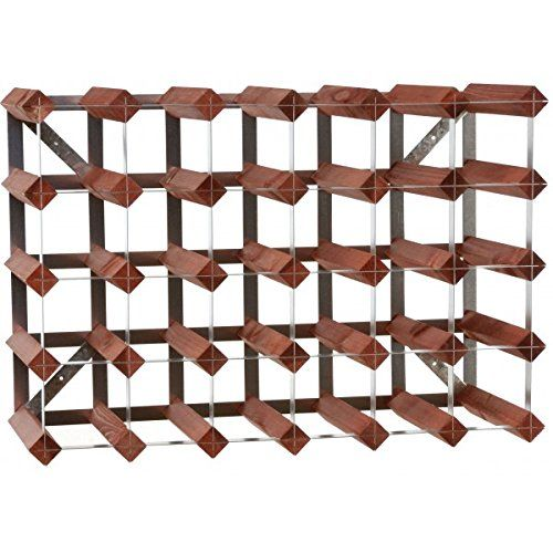 Traditional Wine Rack Mahogany Finish (30 Bottles) *** Check out the image by visiting the link. (Amazon affiliate link)