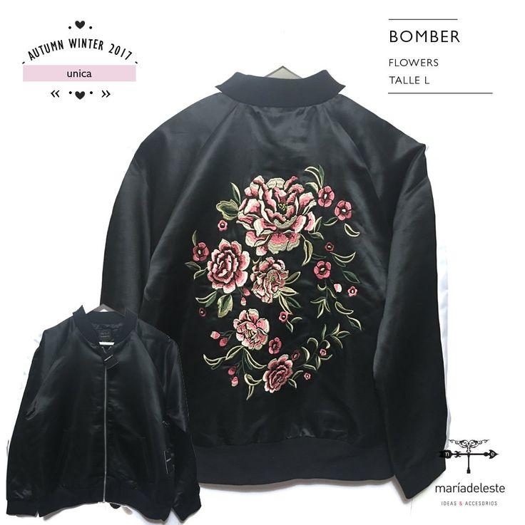 EMBROIDERED JACKET FLOWERS - Comprar en maria del este