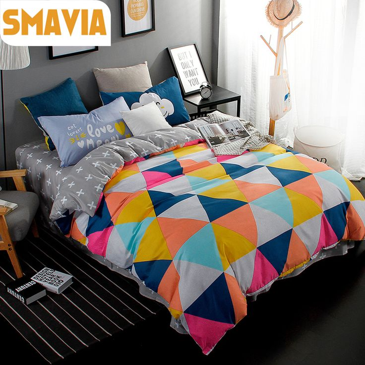 >> Click to Buy << SMAVIA Bed Sets 3/4pcs Modern Bedding Sets Twin Full Queen King Bed Set Home Hotel Bed Linen Bed Sheet Kids Duvet Cover Sets #Affiliate