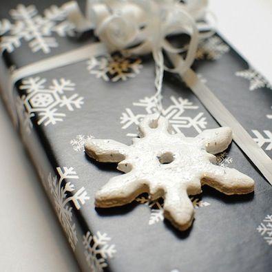 Lavoretti di Natale con la pasta di sale - Fermapacco