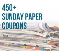 Sunday Paper Coupons - shopathome.com