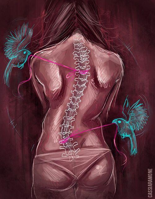 beautiful scoliosis art
