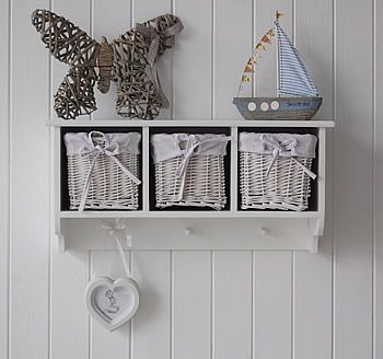 Wire Shelves With Baskets For Bathroom | Bathroom Wall Shelves On Wall Shelf  With Baskets And