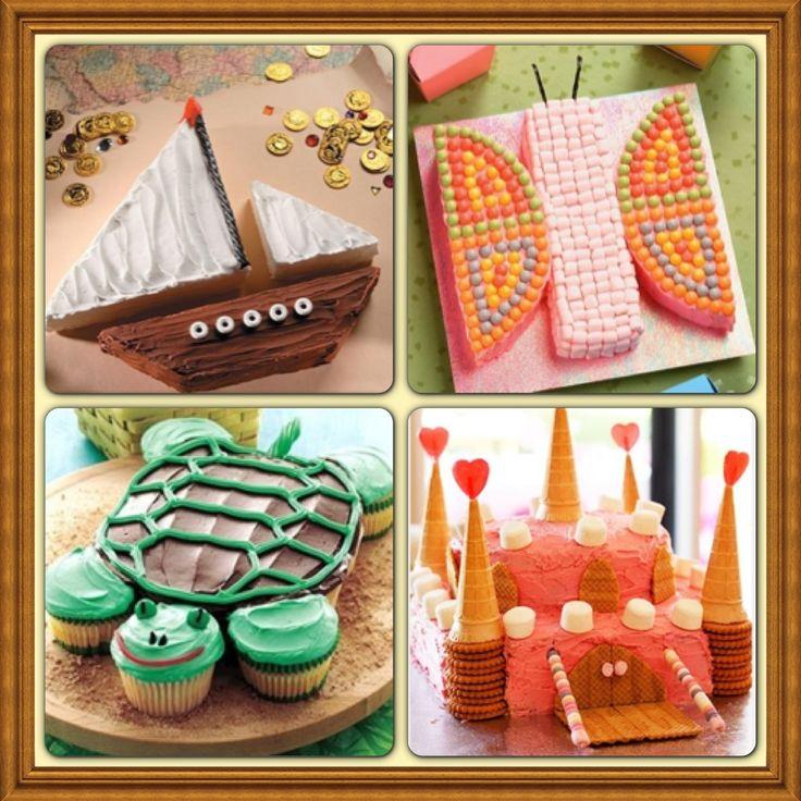 Easy DIY Kid Birthday Cake Ideas