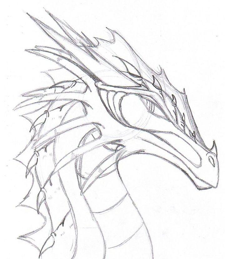 Top 25+ best Dragon drawings ideas on Pinterest | Dragon art, How ...