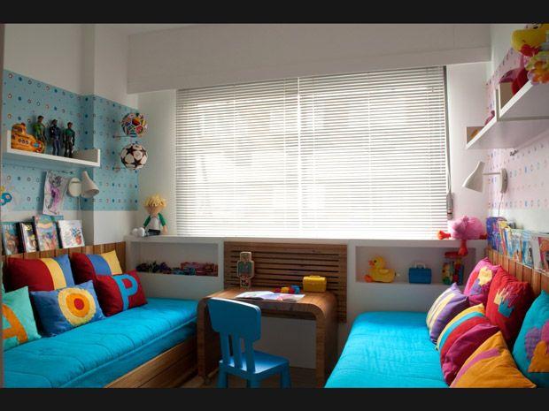 Quarto pequeno para duas crianças: como decorar e ganhar espaço - Dicas - Casa GNT