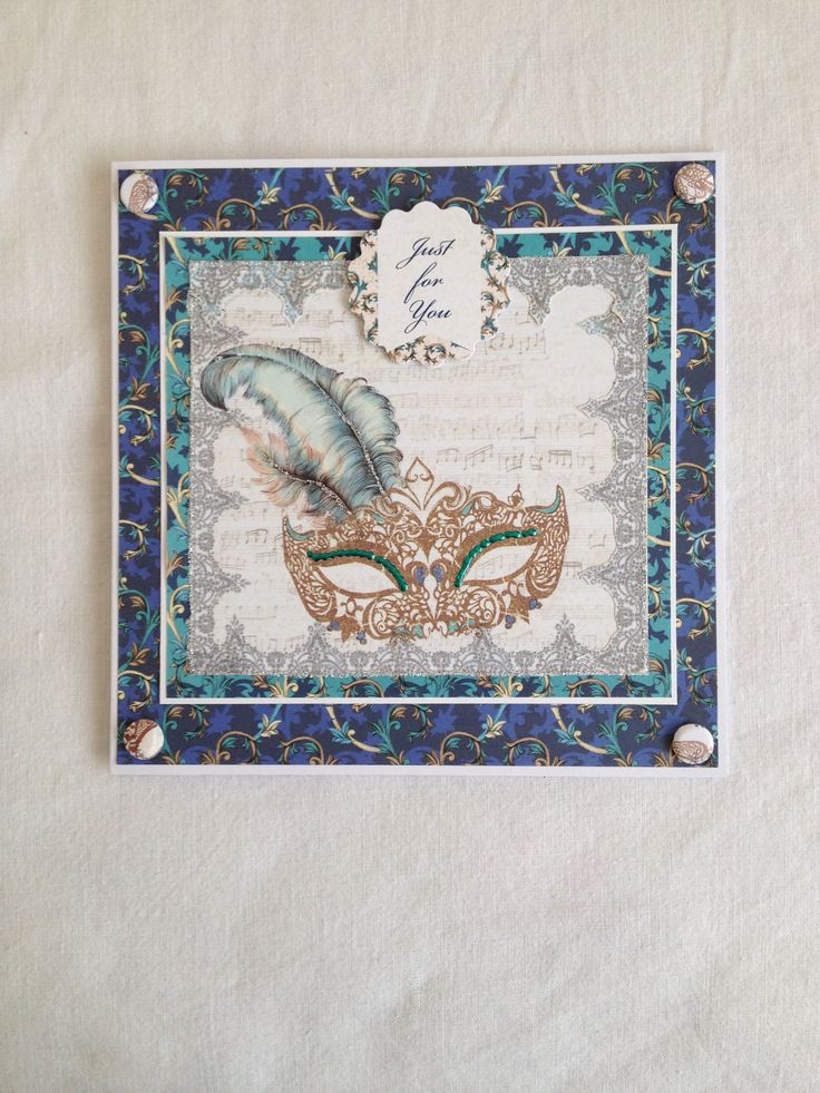 One more card using cwc 'venetian' papers