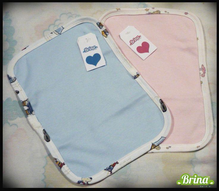 Babitas Para Bebe De Algodon 20 X 30cm. Pack X 10 Unidades. - $ 350,00