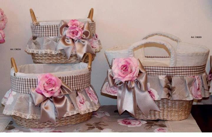 Canastas decoradas cestas pinterest - Decoracion de cestas ...