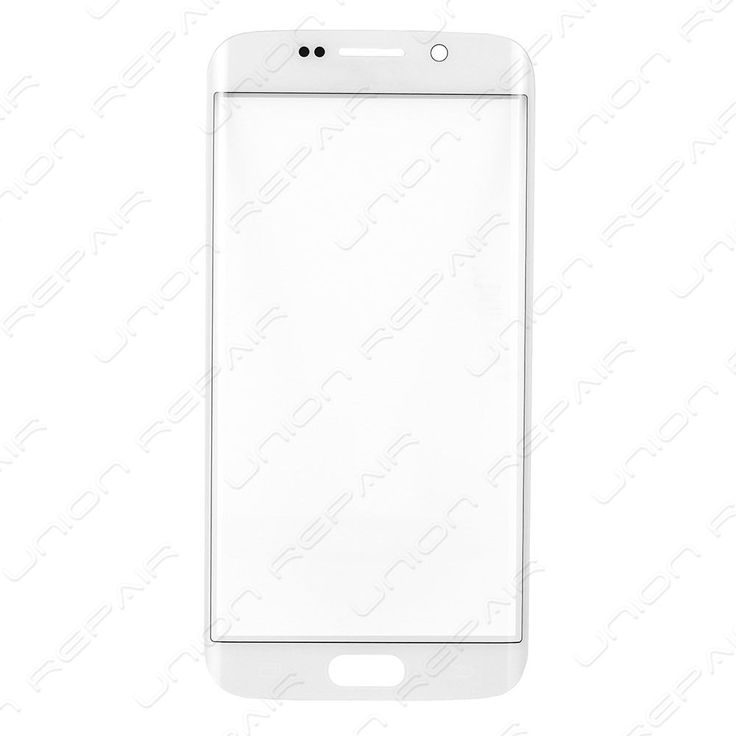Replacement for Samsung Galaxy S6 Edge Front Glass Lens - White