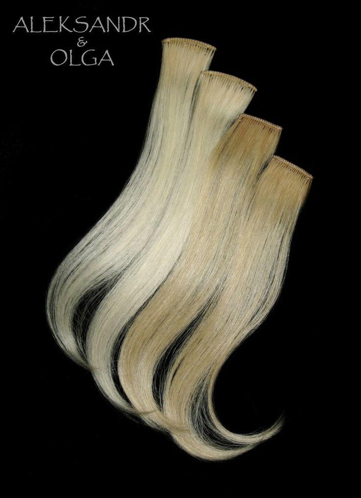 ПРЯДКИ color на заколках - постиж, оттенки светлый блонд (ИЗ натуральных ВОЛОС) http://www.aleksandr-and-olga.ru/ http://www.livemaster.ru/myshop/hair-collection