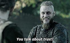 Travis Fimmel as Earl Ragnar Lothbrok - Vikings                                                                                                                                                                                 More