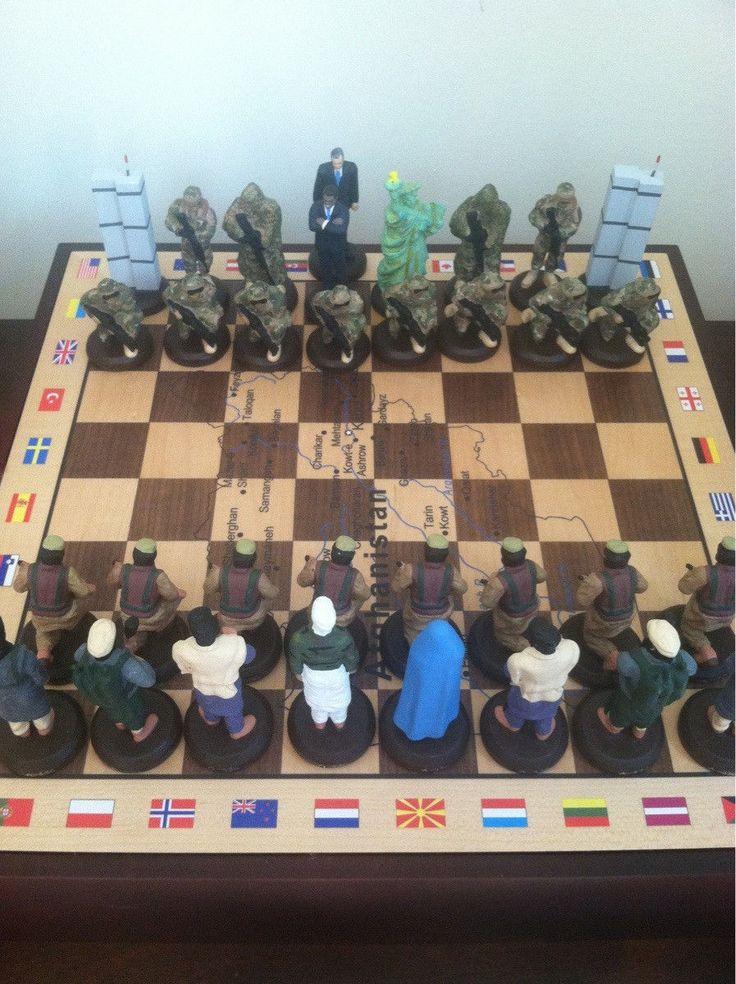 ddyr: (アフガニスタン土産のチェスセットがヤバい海外の反応 : 暇は無味無臭の劇薬から)