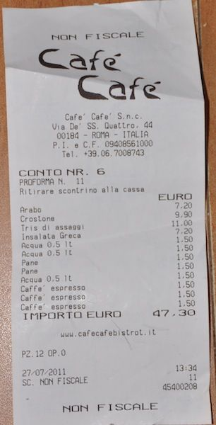 How Not to Get Ripped Off Eating in Italy