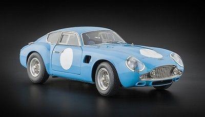 Price - $430.95. CMC M-140 Aston Martin DB4 GT Zagato Blue 1:18 Diecast Car NEW - AUTH DEALER ( Vehicle Make - Aston Martin, Brand - CMC, Scale - 1:18, MPN - M-140, UPC - NA    )